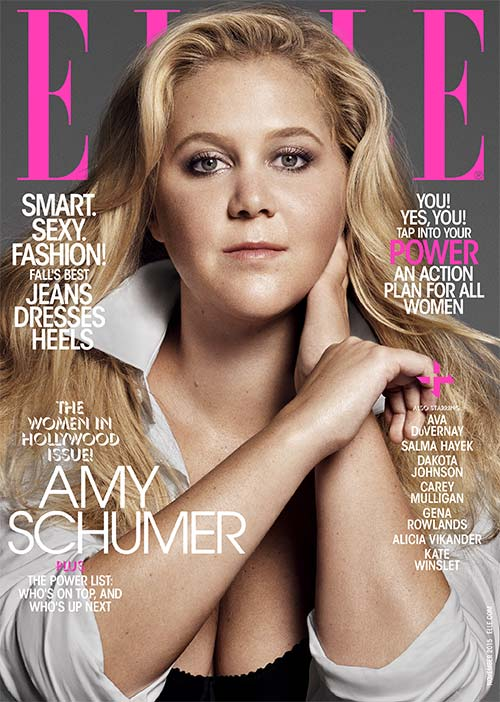 Amy Schumer in Elle
