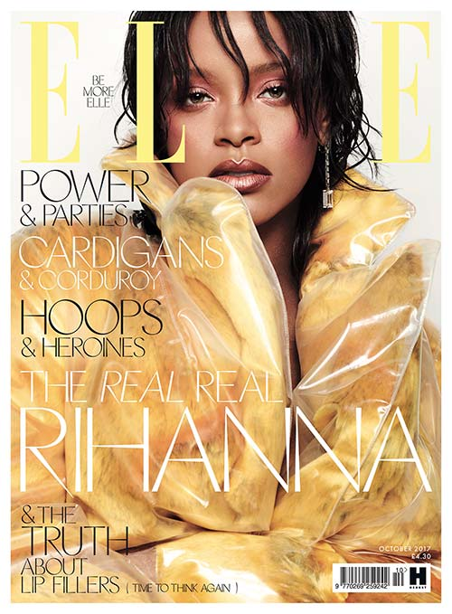 Rihanna - Elle UK
